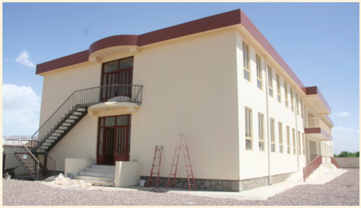 Qale Sharbat School Building in Karokh, Herat April 25 2012 | Photo by Mateja Zupancic