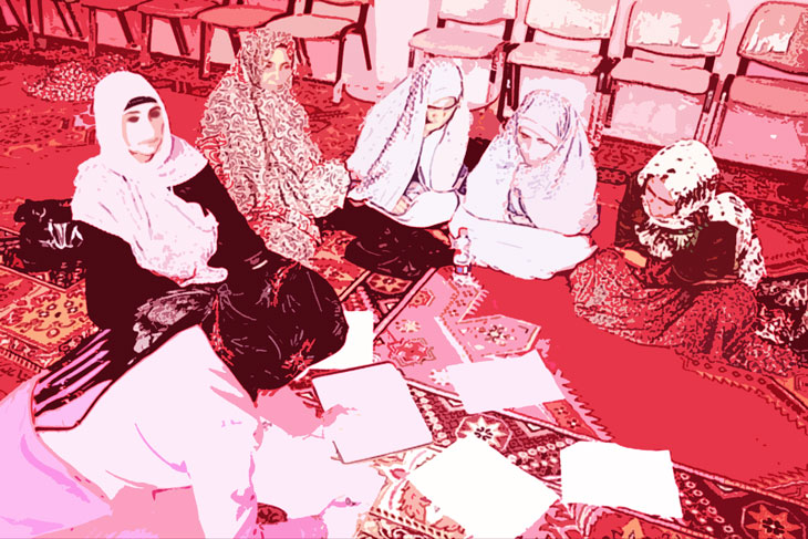 A Meeting with Various Members of Female Shuras in Herat April 27 2012 | Photo by Mateja Zupancic