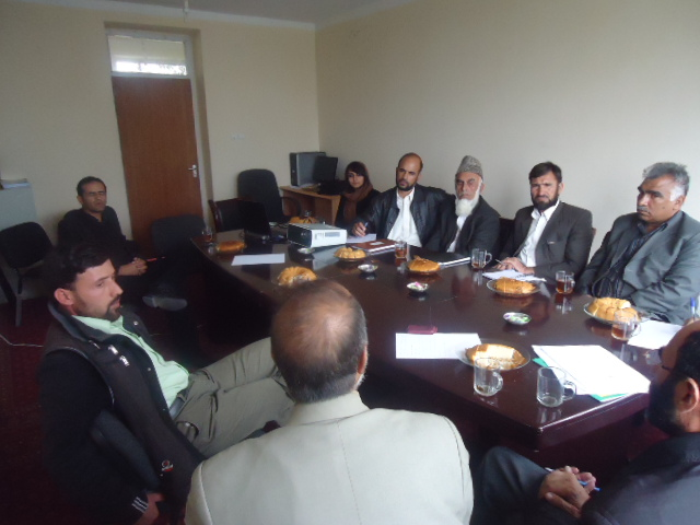 Provincial Monitoring Board Meeting, Jabal Saraj, Parwan November 2011 | Photo courtesy of Anis Wazirgul